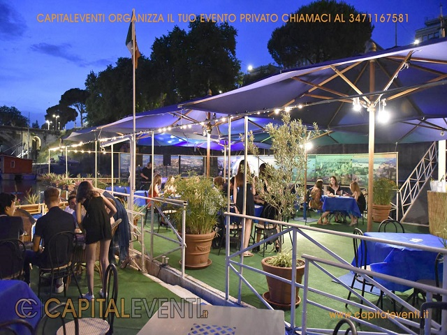 Barcone sul Tevere Roma 67